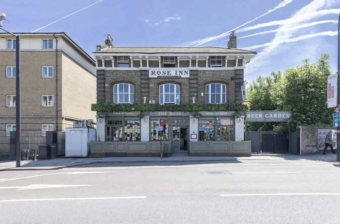 Area Guide New Cross & Telegraph Hill  Eat & Drink The Rose Pub and Kitchen